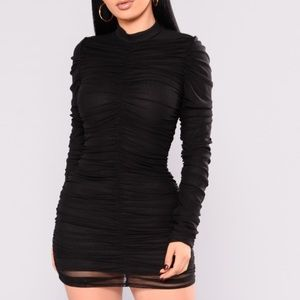 Paparazzi Ruched Dress